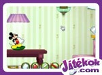 Mickey & Friends In Pillow Fight!
